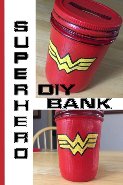 Superhero Bank DIY