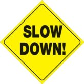 yellow-plastic-reflective-sign-12-slow-down-ktHMzw-clipart